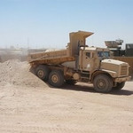 MTVR (Medium Tactical Vehicle Replacement) Dump-hard at Work