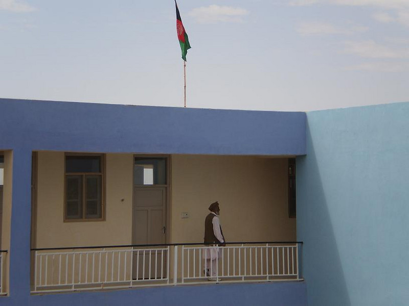 School in Kandahar, Afghanistan.