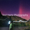 Northern Lights on the Middle Fork of the Salmon River