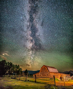 Milky Way on Mormon Row
