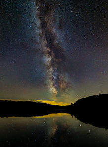 Milky Way Reflected