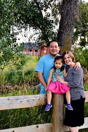 The Nitta Family - August, 2018