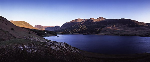 Tthe High Stile Range and Crummock Water