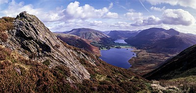 Mellbreak : Crummock Water and Buttermere