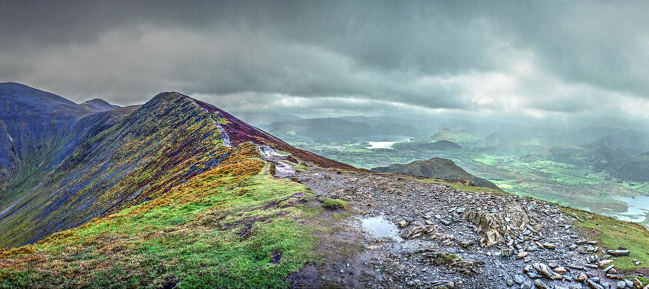 On Ullock Pike (2230ft/679m)