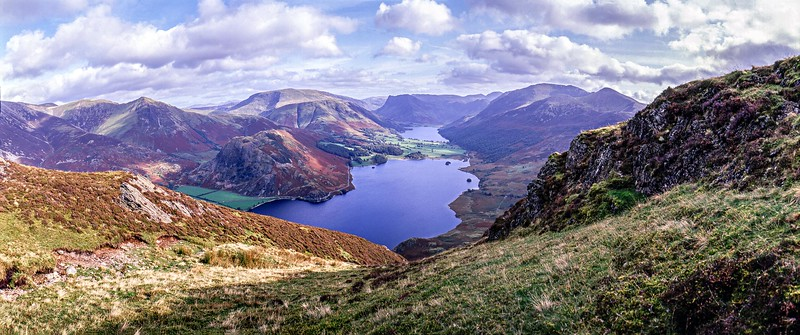Melbreak : The View South Over Crummock Water