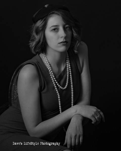 Chelsdy Brooks at Dave's LifeStyle Photography, Noir Project