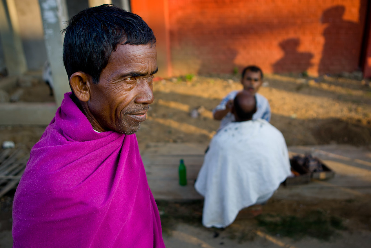 Barber, Tezpur. Assam.