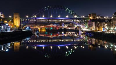 Tyne riverside and bridges