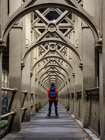 On the High Level Bridge