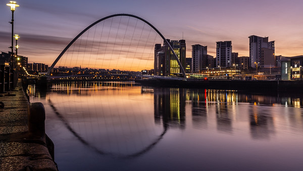 Gateshead sunrise