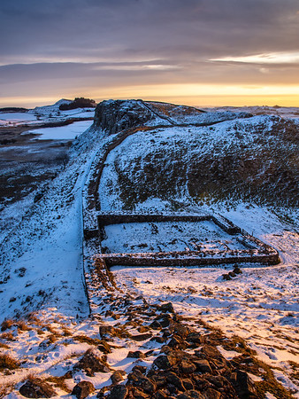 Dawn at Milecastle 39