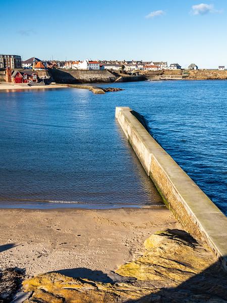 Cullercoats Harbour