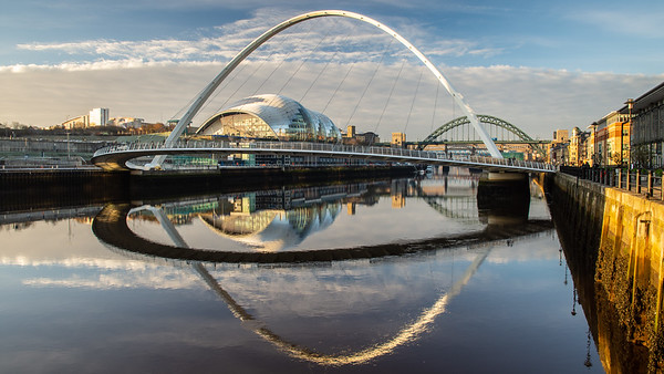 Sage Gateshead and Millennium Bridge