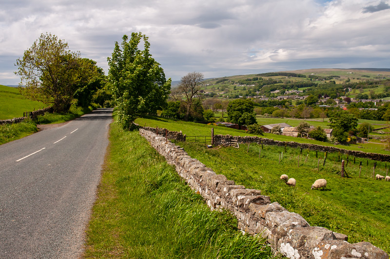 Middleton-in-Teesdale valley