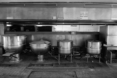 Central Kitchen, North Facility, Wyoming State Penitentiary, Rawlins, WY.