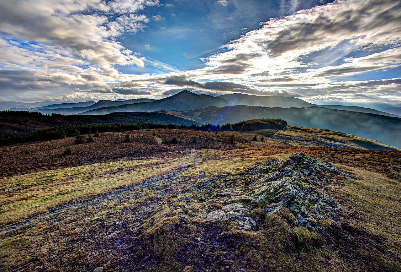 Lords' Seat : Grisedale Pike Sky