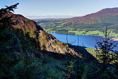 Barf, Bassenthwaite Lake and Ullock Pike