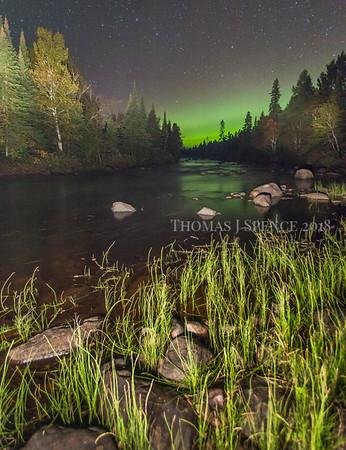 Temperance River Aurora