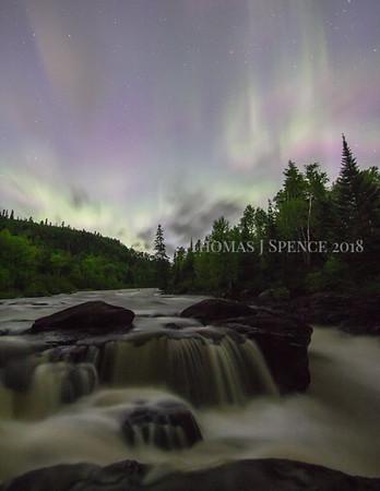 Temperance, Clouds, Aurora