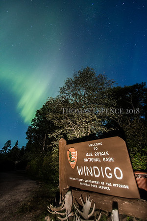 Isle Royale Northern LIghts
