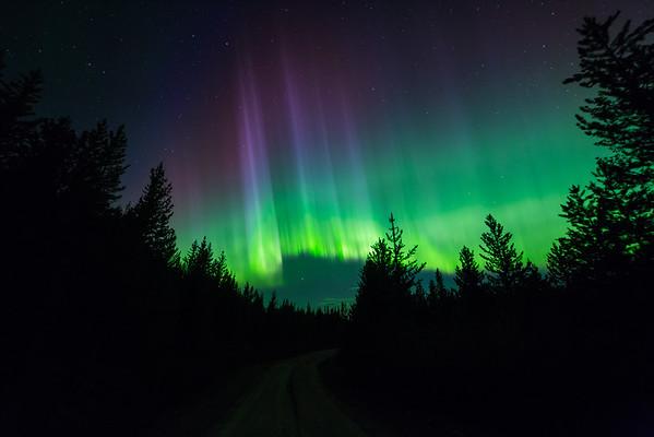 Sunset Aurora-Peak Of the Storm