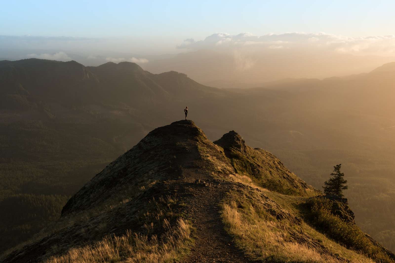 Saddle Mountain Sunset