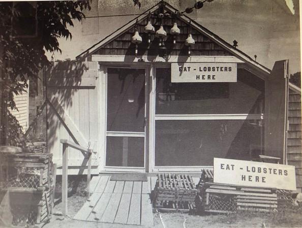 Nunan's Lobster Hut circa 1953
