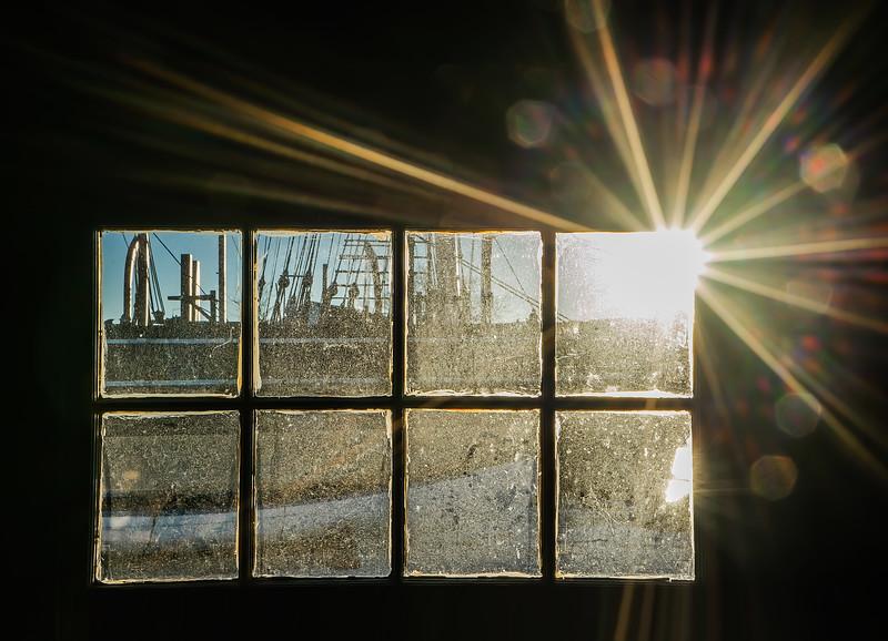Sunburst at the Mystic Seapor
