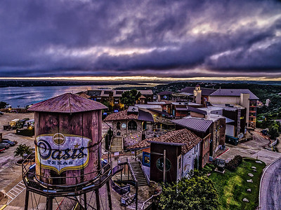 The Oasis on Lake Travis Water Tank