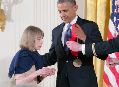 Joan Didion was honored for her mastery of style in writing.