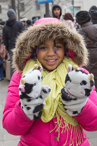 Cow Mittens