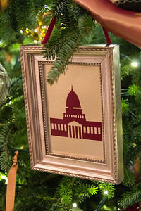 Wooden Framed Ornaments