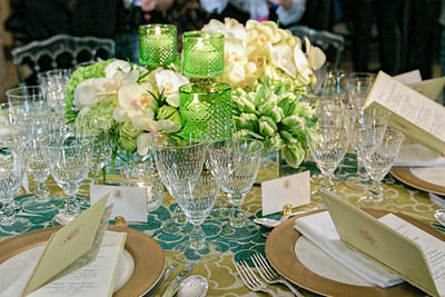 The White House previewed the place settings and decor for the Canada State Dinner.  This preview was held on March 9, 2016