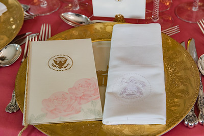 Décor for China State Dinner