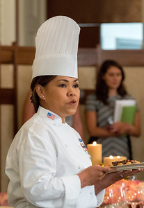 White House Executive Chef Cris Comerford
