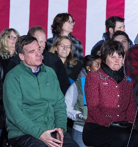 Sen. Mark Warner & Anne Holton; Joe Biden Rally at Historic Tredegar