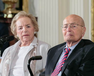 Ethel Kennedy and John Dingell