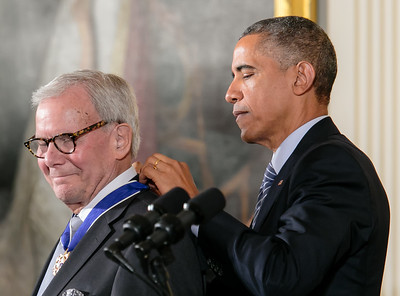 Tom Brokaw Receives the Medal of Freedom
