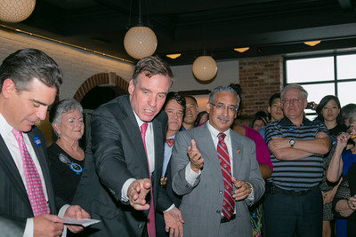 Sen Mark Warner and Cong Bobby Scott