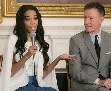 Michelle Williams and Lyle Lovett