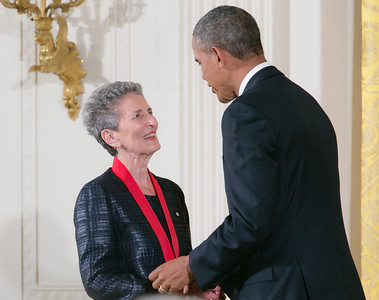 Natalie Zemon Davis was honored for her insights into the study of history.