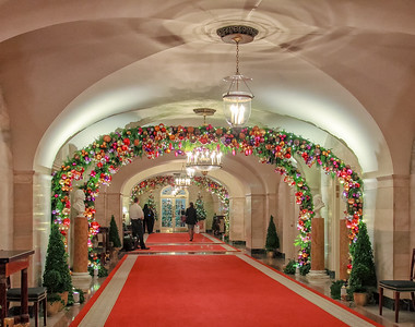 Hallway Holiday Decorations