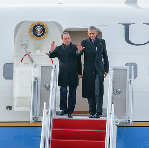 President Obama and President Hollande