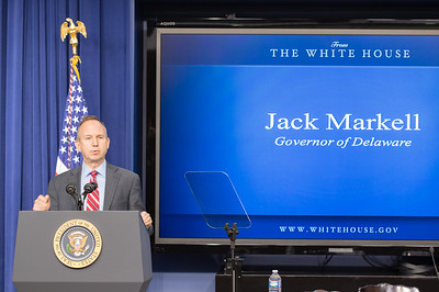 Governor of Delaware, Jack Markell