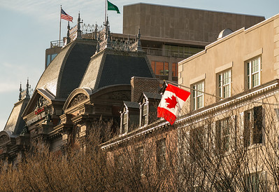 Canadian Flag near the Renwick Gallery
