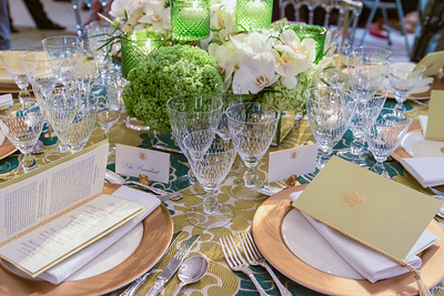 The President's Place Setting