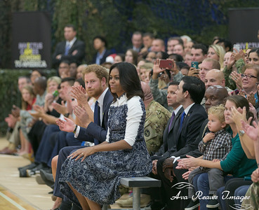 HRH Price Harry and Michelle Obama