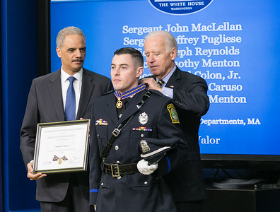 Officer Timothy Menton of Watertown Police Dept., Massachusetts