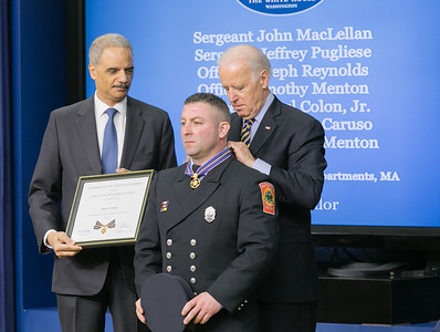 Firefighter James Caruso